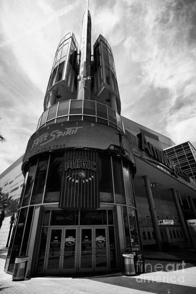 Wall Art - Photograph - The Amway Center Home To The Orlando Magic Orlando Florida Usa by Joe Fox
