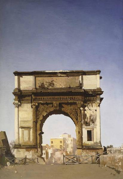 Wall Art - Painting - The Arch Of Titu  by James Kerr Lawson