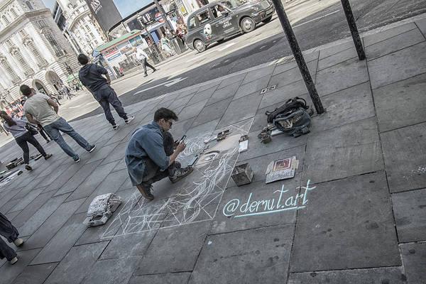 Wall Art - Photograph - The Artist by Martin Newman