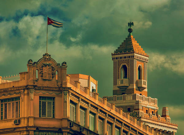 Bacardi Photograph - The Bacardi Building In Havana by Mountain Dreams