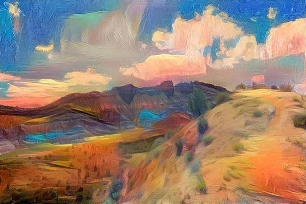 Wall Art - Photograph - The Badlands In Color by Minnetta Heidbrink