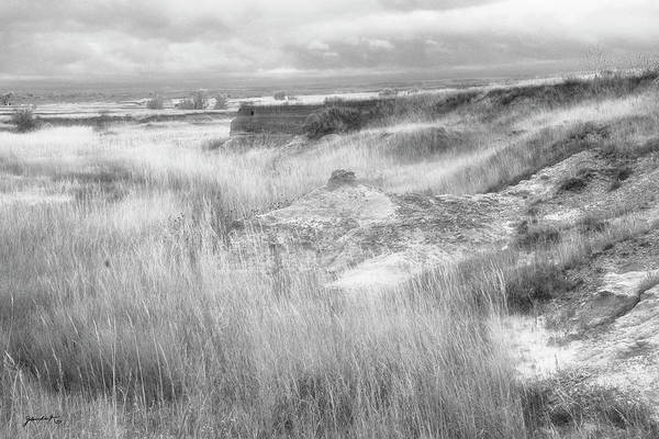 Photograph - The Badlands South Dakota by Gerlinde Keating - Galleria GK Keating Associates Inc
