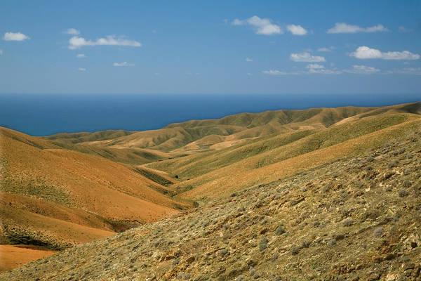 Wall Art - Photograph - The Barren Hills Of Western by Roel Meijer