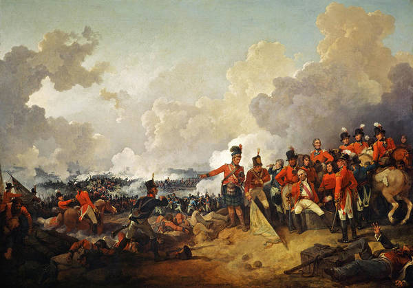 Wall Art - Painting - The Battle Of Alexandria, 21 March 1801 by Philip James de Loutherbourg