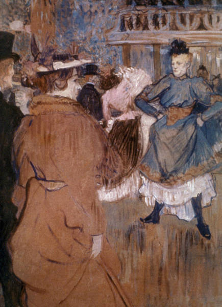 Wall Art - Painting - The Beginning Of The Quadrille At The Moulin Rouge - 1892 - National Gallery Of Art Washington Dc -  by Henri de Toulouse-Lautrec