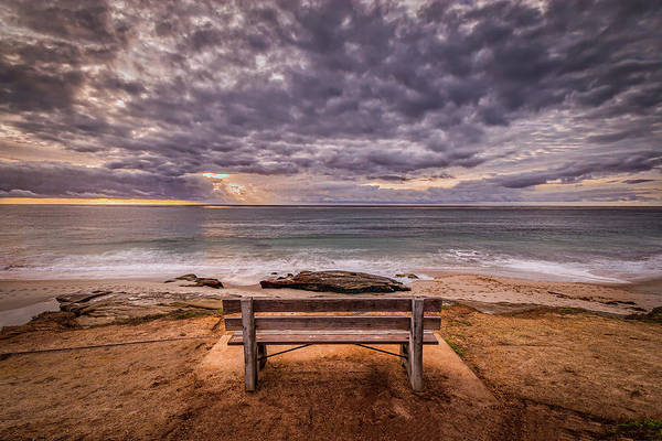 Photograph - The Bench 2019 Edit by Peter Tellone