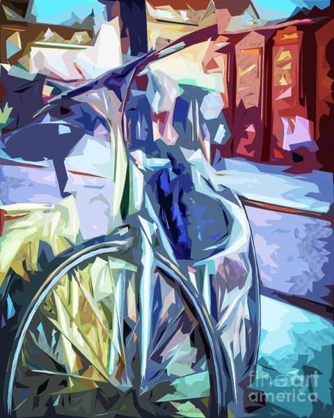 Photograph - The Bicycle. by Nigel Dudson