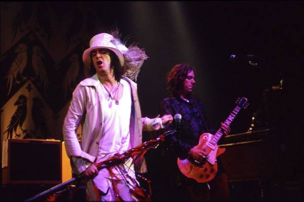 Robinson Photograph - The Black Crowes by Martyn Goodacre