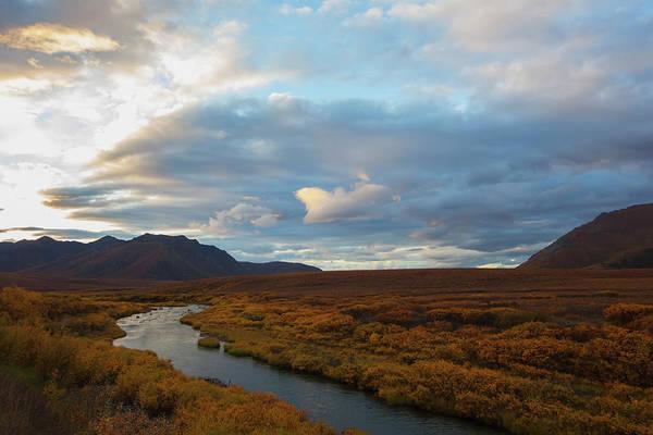 Tundra Wall Art - Photograph - The Blackstone River Flows Through The by Robert Postma / Design Pics