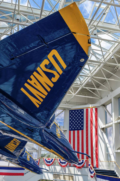 Photograph - The Blue Angels Atrium by Tim Stanley