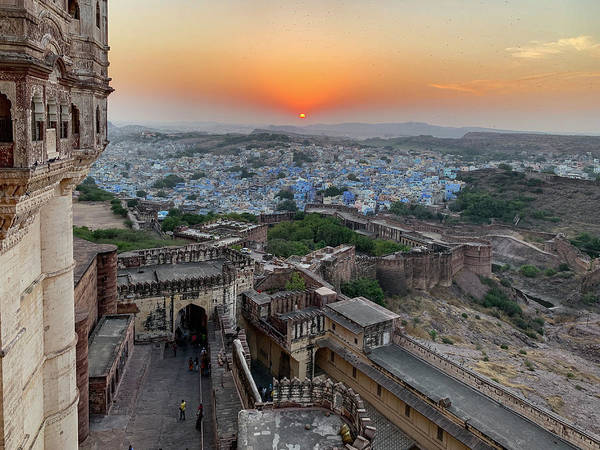 Photograph - The Blue City Of Jodhpur. by Usha Peddamatham