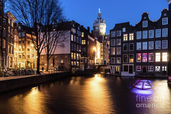 Photograph - The Canals Of Amsterdam by Didier Marti