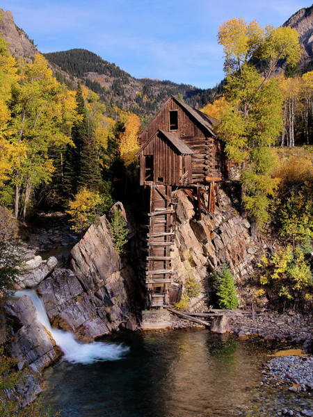Wall Art - Photograph - The Crystal Mill by Patrick Campbell