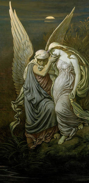 Wall Art - Painting - The Cup Of Death, 1911 by Elihu Vedder