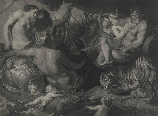 Wall Art - Painting - The Four Continents, 1615 by Peter Paul Rubens