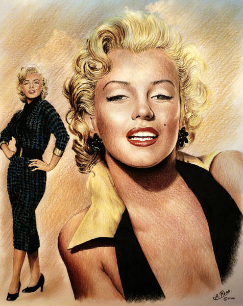 Norma Jeane Mortenson Painting - The Glamour Days by Andrew Read