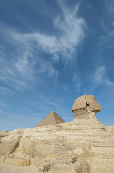 Giza Photograph - The Great Sphinx Of Giza And The by Cultura Exclusive/philip Lee Harvey