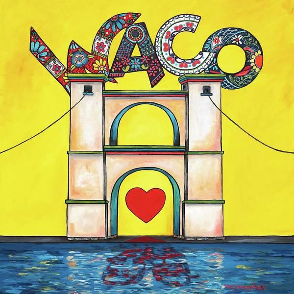 Painting - The Heart Of Waco by Patti Schermerhorn