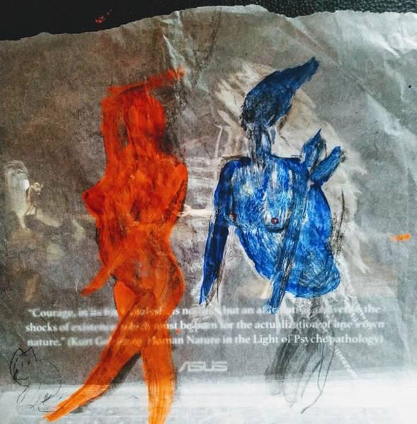 The Immolation Art Print