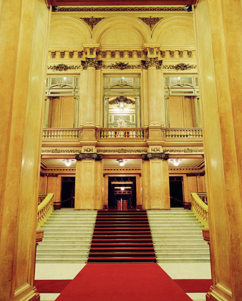 Photograph - The Interior Of Teatro Colon Opera by Joao Canziani