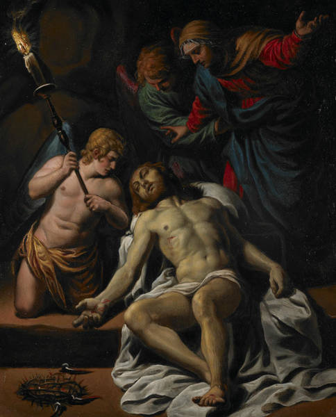 Painting - The Lamentation by Alessandro Turchi