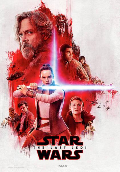 Jedi Digital Art - The Last Jedi by Geek N Rock
