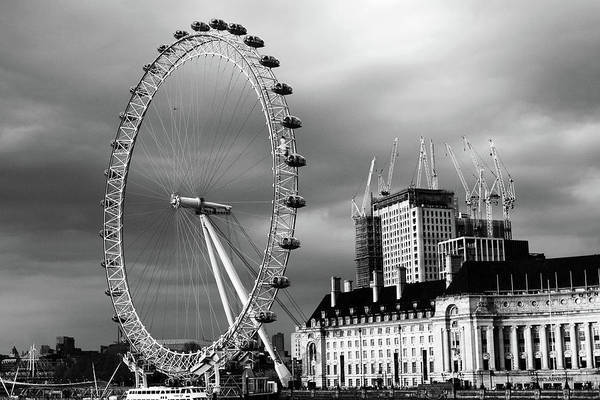 Photograph - The London Eye by Aidan Moran