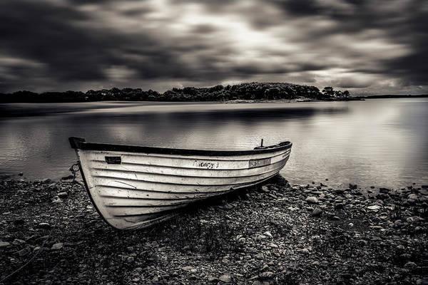 The Lone Boat Art Print