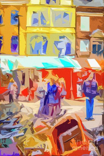 Photograph - The Market by Nigel Dudson