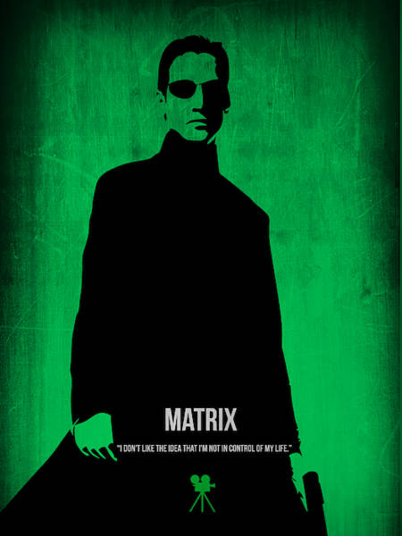 Wall Art - Digital Art - The Matrix  by Naxart Studio