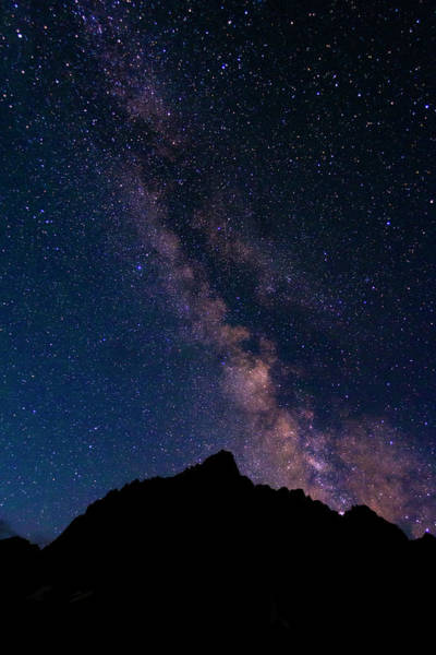 Wall Art - Photograph - The Milky Way Over The Palisades, John by Russ Bishop