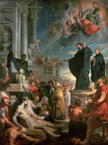 Wall Art - Painting - The Miracles Of Saint Francis Xavier by Peter Paul Rubens