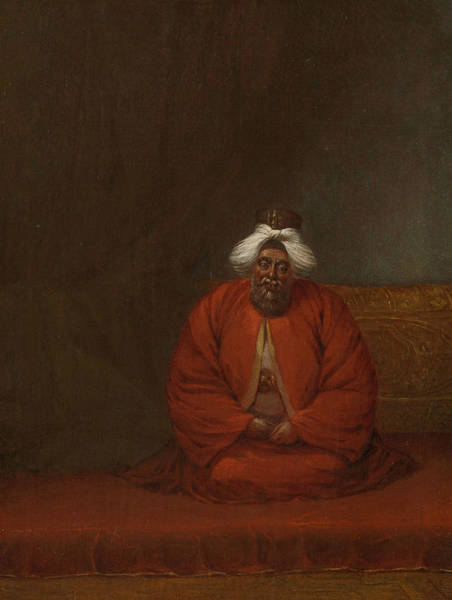 Painting - The Mufti, Head Of Religious Affairs by Jean Baptiste Vanmour