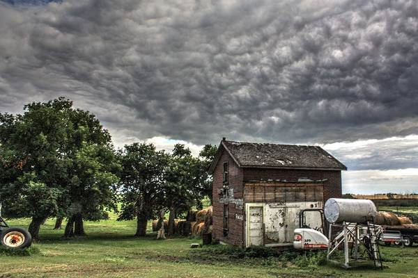 Photograph - The Old Home by David Matthews