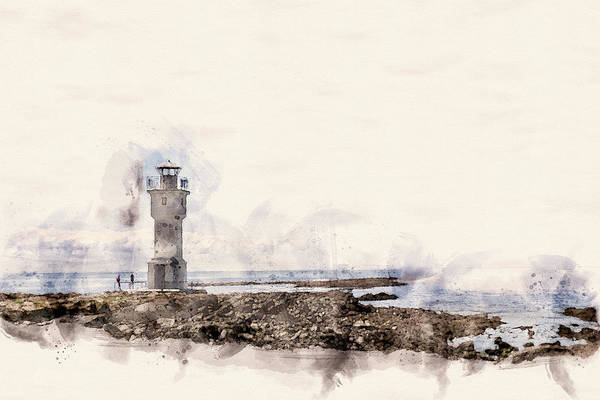 Wall Art - Photograph - The Old Lighthouse by G Ben