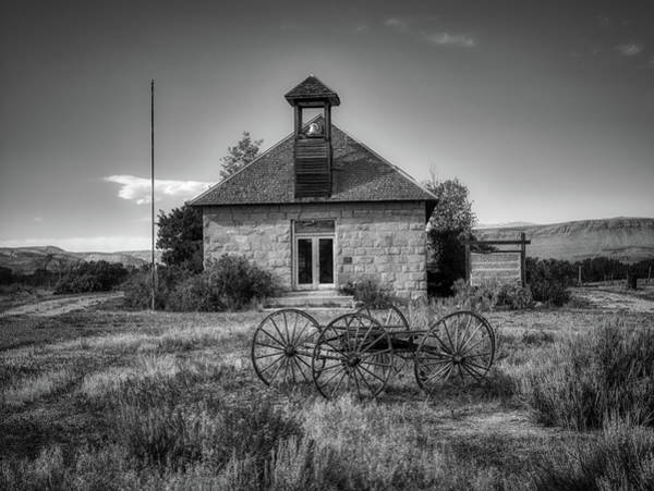 Wall Art - Photograph - The Old Lower Shell School by Mountain Dreams
