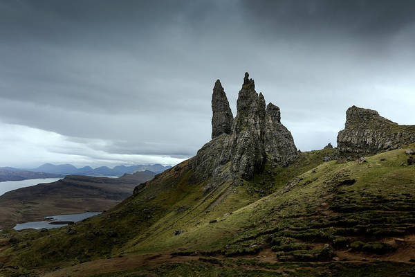 Wall Art - Photograph - The Old Man Of Storr by Ian Hufton
