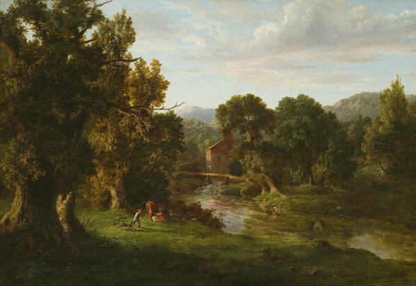 Wall Art - Painting - The Old Mill by George Inness