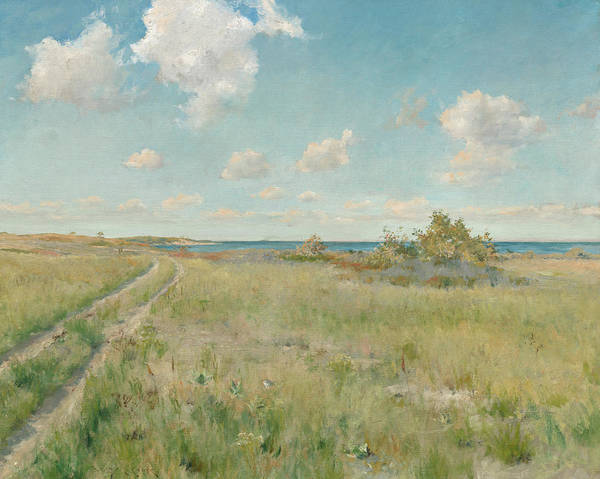 Wall Art - Painting - The Old Road To The Sea, 1893 by William Merritt Chase
