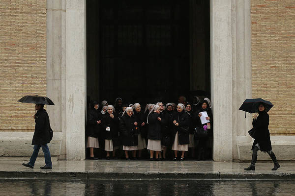 Photograph - The Papal Conclave Day Two by Dan Kitwood