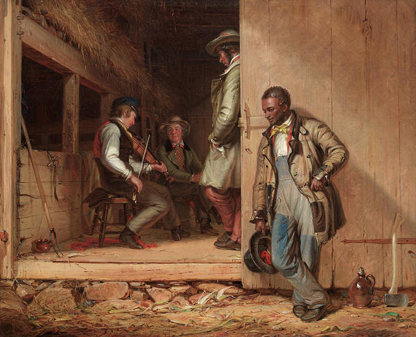 Wall Art - Painting - The Power Of Music, 1847 by William Sidney Mount