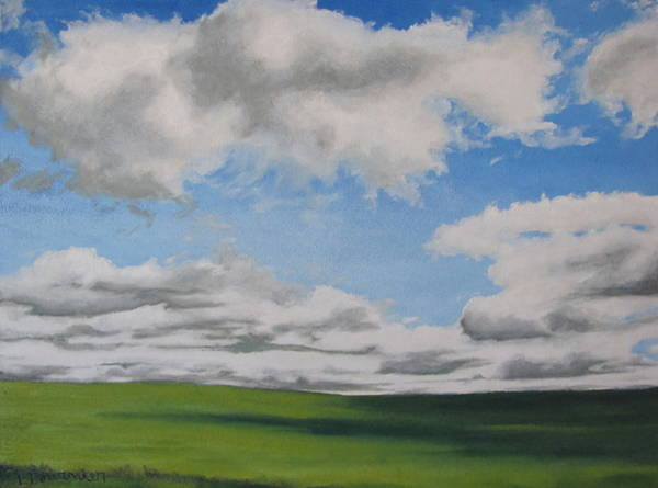 Wall Art - Painting - The Prairie by Francois Fournier