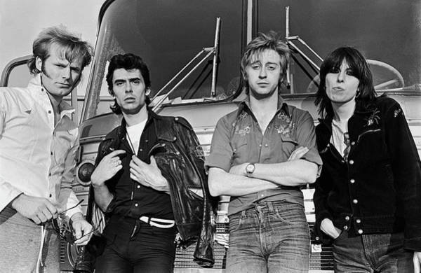 Photograph - The Pretenders by George Rose