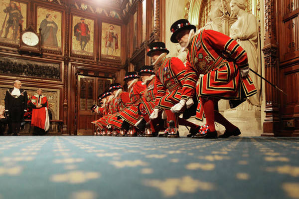 Topics Photograph - The Queen And Duke Of Edinburgh Attend by Dan Kitwood