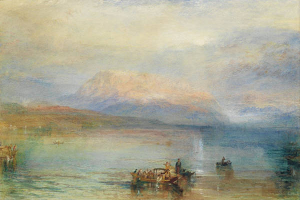Painting - The Red Rigi  by Joseph Mallord William Turner