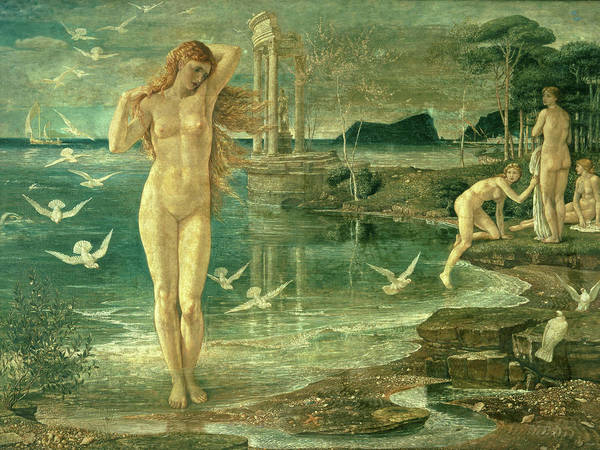 Wall Art - Painting - The Renaissance Of Venus by Walter Crane
