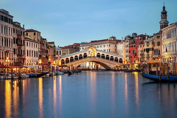 Wall Art - Photograph - The Rialto Bridge by Svetlana Sewell
