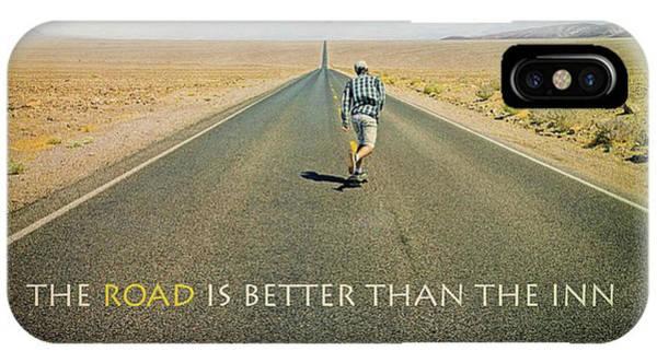 Photograph - The Road Is Better Than The Inn by Darrel Giesbrecht