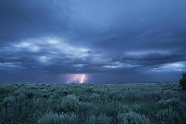 Photograph - The Thrill Of A Kansas Storm by Mary Lee Dereske