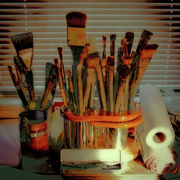 Wall Art - Photograph - The Tools Of An Artist by David Patterson